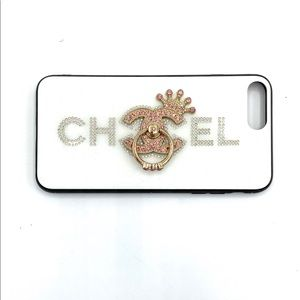 iPHONE Pink Crystal Fashion Case